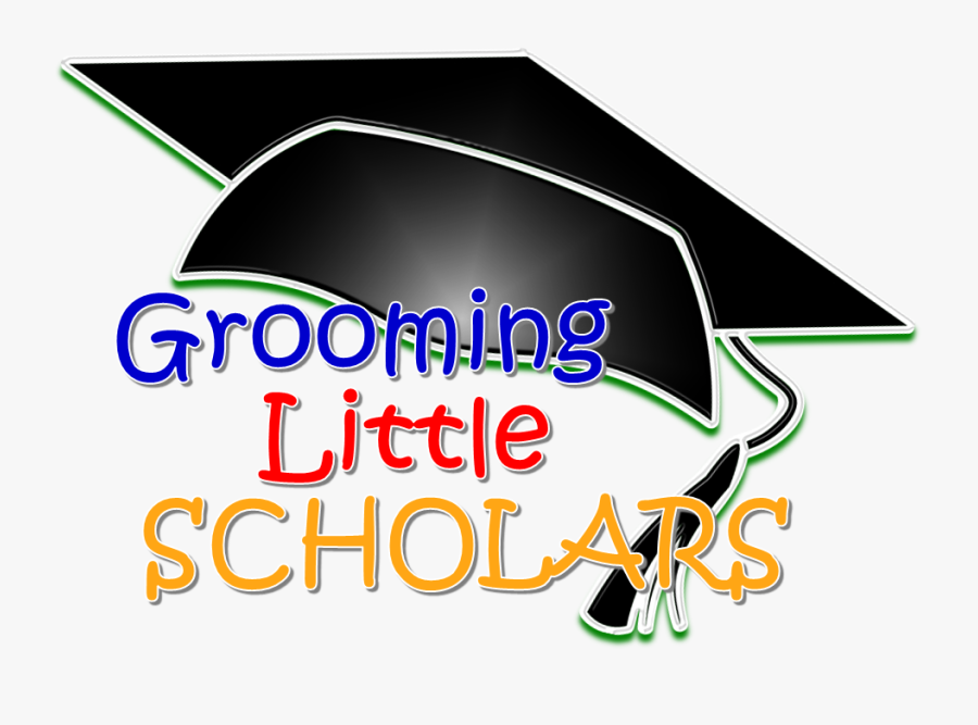 Grooming Little Scholars Childcare - Graphic Design, Transparent Clipart