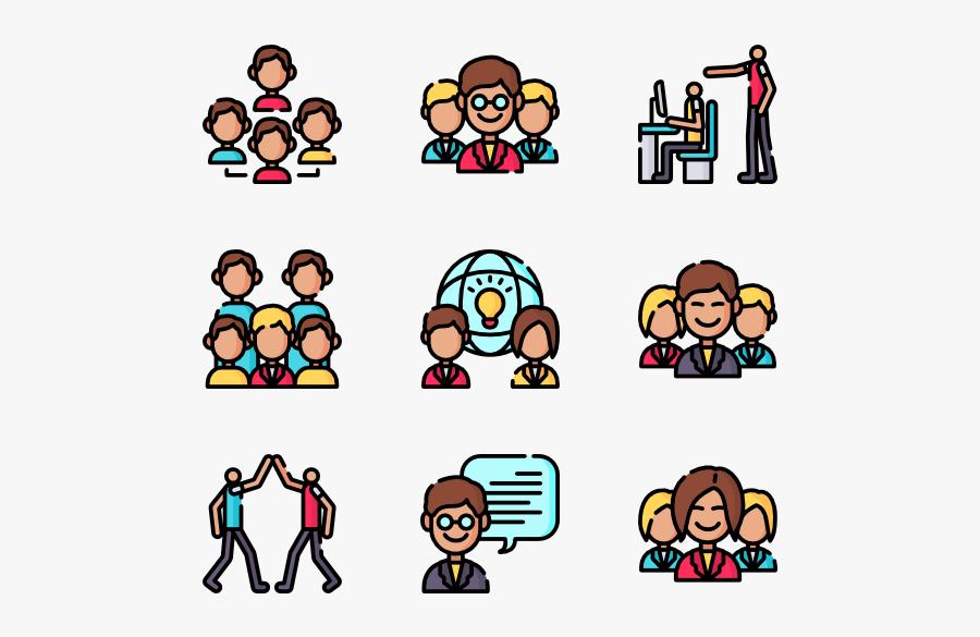 People,cartoon,social Group,facial Expression,clip - Cartoon, Transparent Clipart