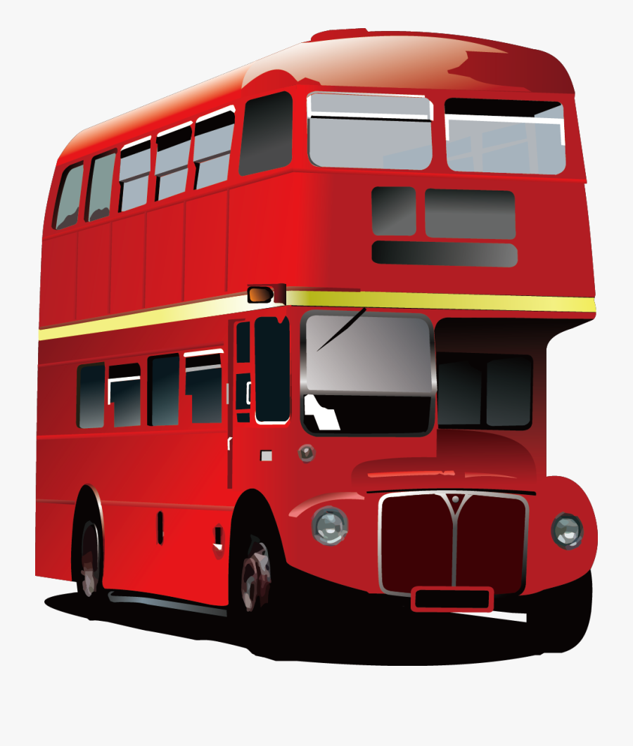 Clip Art London Red Bus Gifts - London Red Bus, Transparent Clipart
