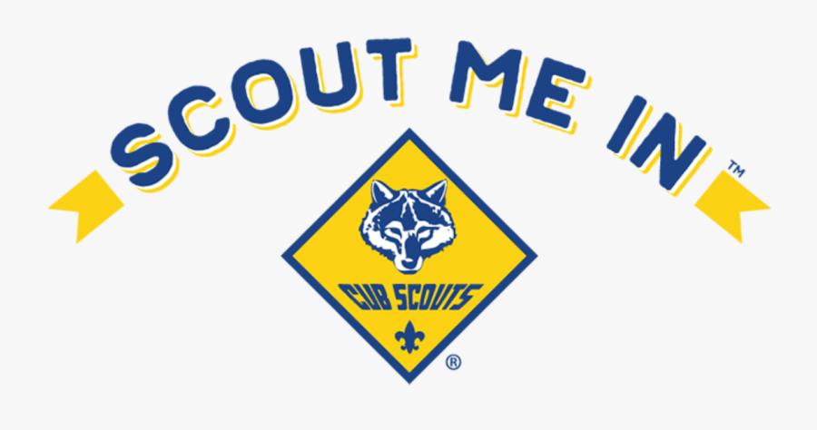 Scout Me In Logo Cub Scouts, Transparent Clipart
