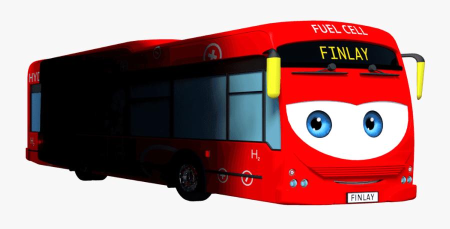 Larry The And Friends - Tour Bus Service, Transparent Clipart