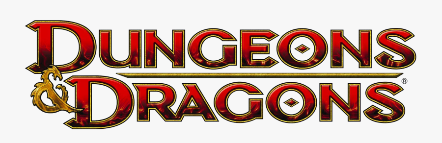 Dungeons And Dragons Logo, Transparent Clipart