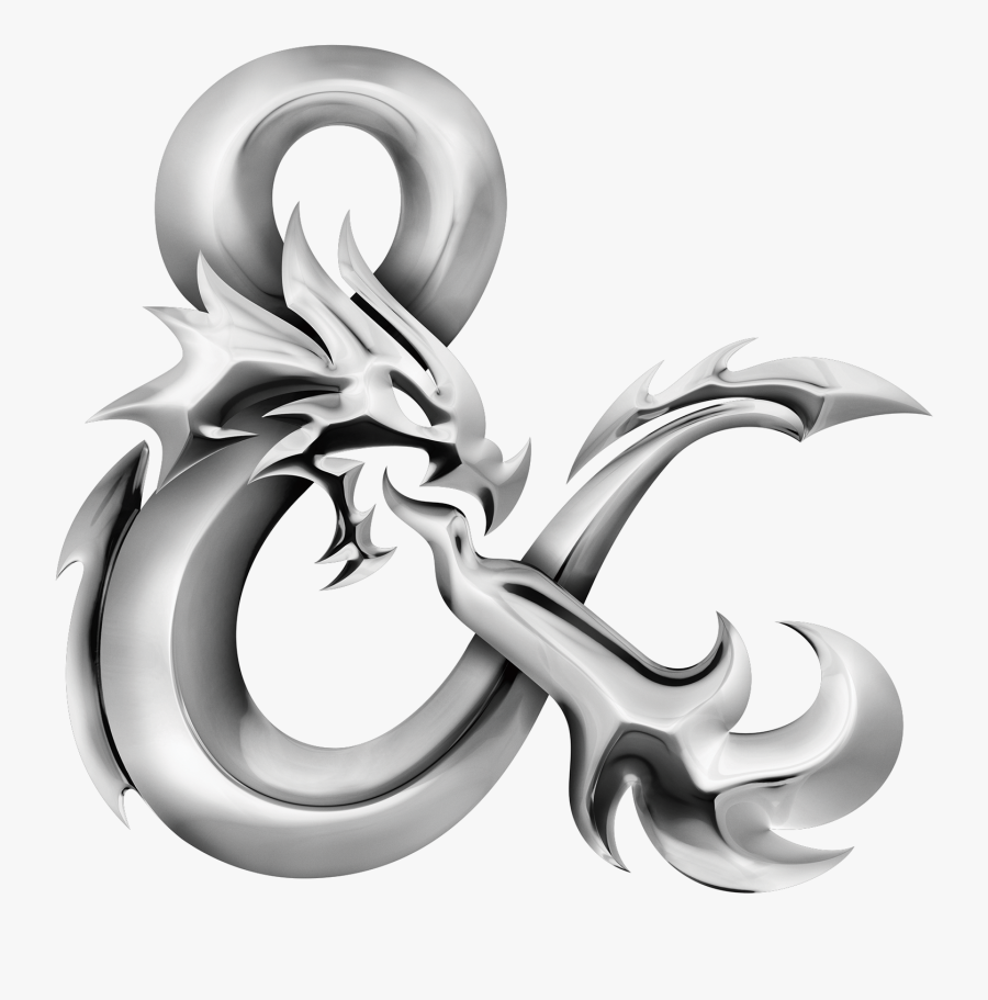 En World Rpg News & Reviews - Dungeons And Dragons Ampersand, Transparent Clipart