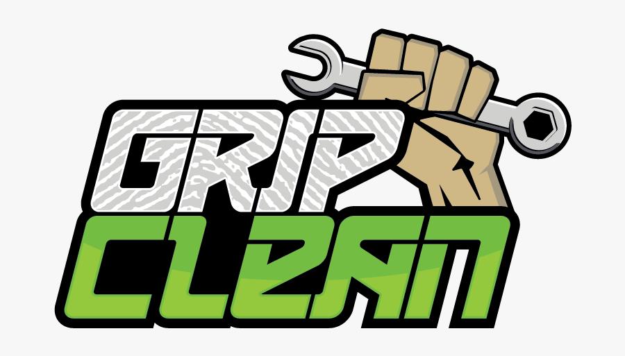 Transparent Wash Your Hands Clipart - Grip Clean Logo Pdf, Transparent Clipart