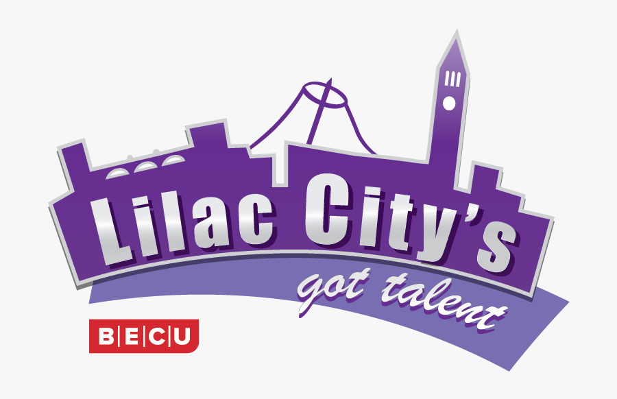 """2019 """"lilac City""""s Got Talent"""" Show Presented By Becu - Lilac City's Got Talent, Transparent Clipart"""