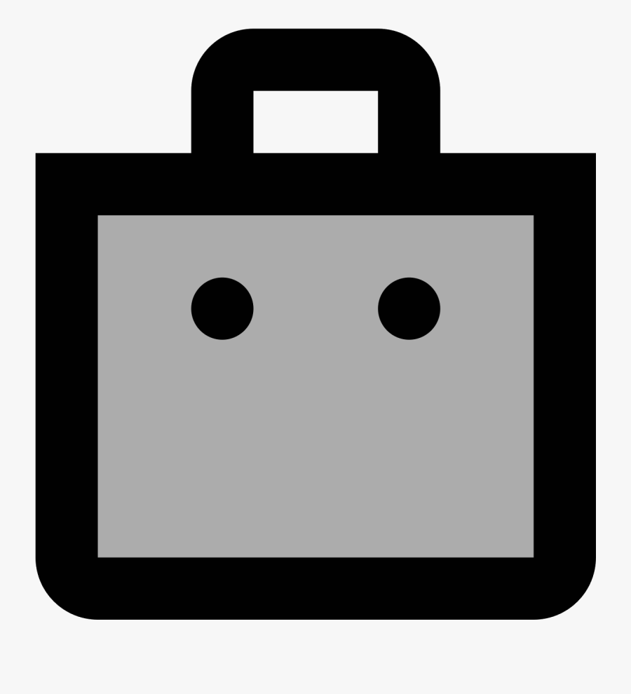 A Shopping Bag Is A Rectangle Like Container That Has - Circle, Transparent Clipart