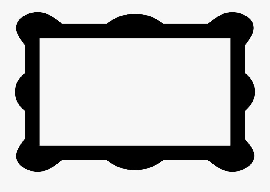 Transparent Rectangular Clipart - Rectangle Rounded Borders Png, Transparent Clipart