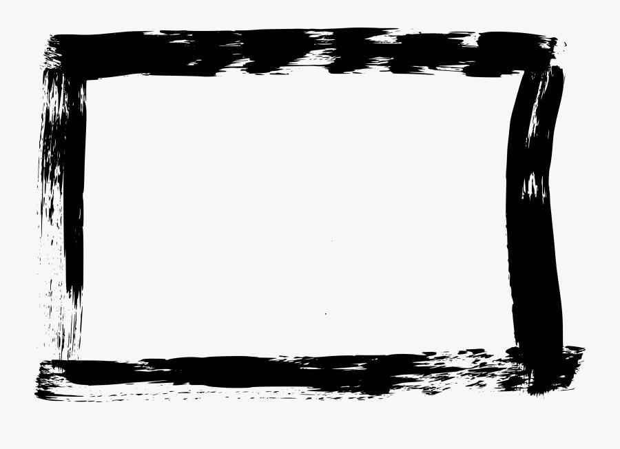 Clip Art Grunge Stroke Rectangle - Rectangle Png Transparent, Transparent Clipart
