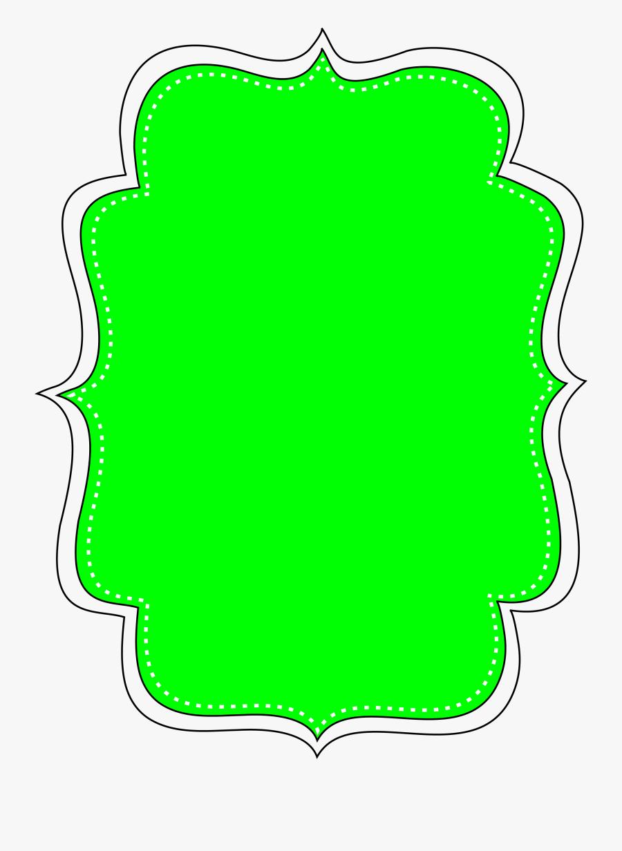 Transparent Blue Bracket Frame Clipart Free, Transparent Clipart