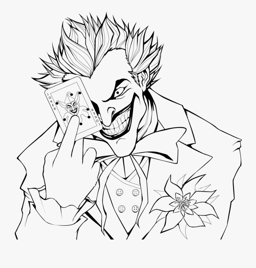 Joker Icon By Slamiticon Batman And Joker Coloring Pages Free Transparent Clipart Clipartkey