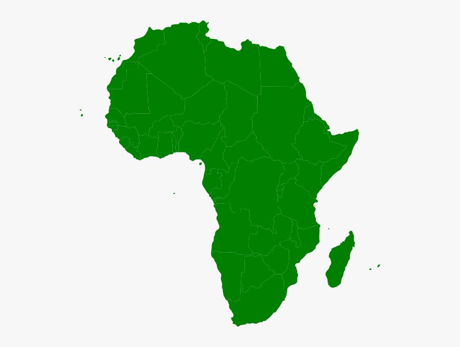 Maps Clipart Continent - Montessori Africa Continent, Transparent Clipart