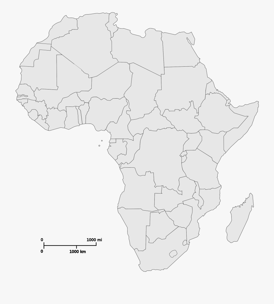 Clip Art File Svg Wikimedia Commons - Map Of Africa Png, Transparent Clipart