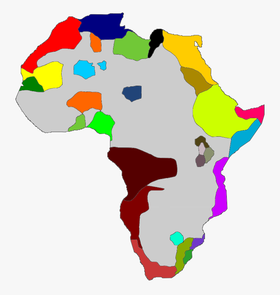 Uncolonized Africa Map By Ildzayri - Uncolonized Africa Map, Transparent Clipart