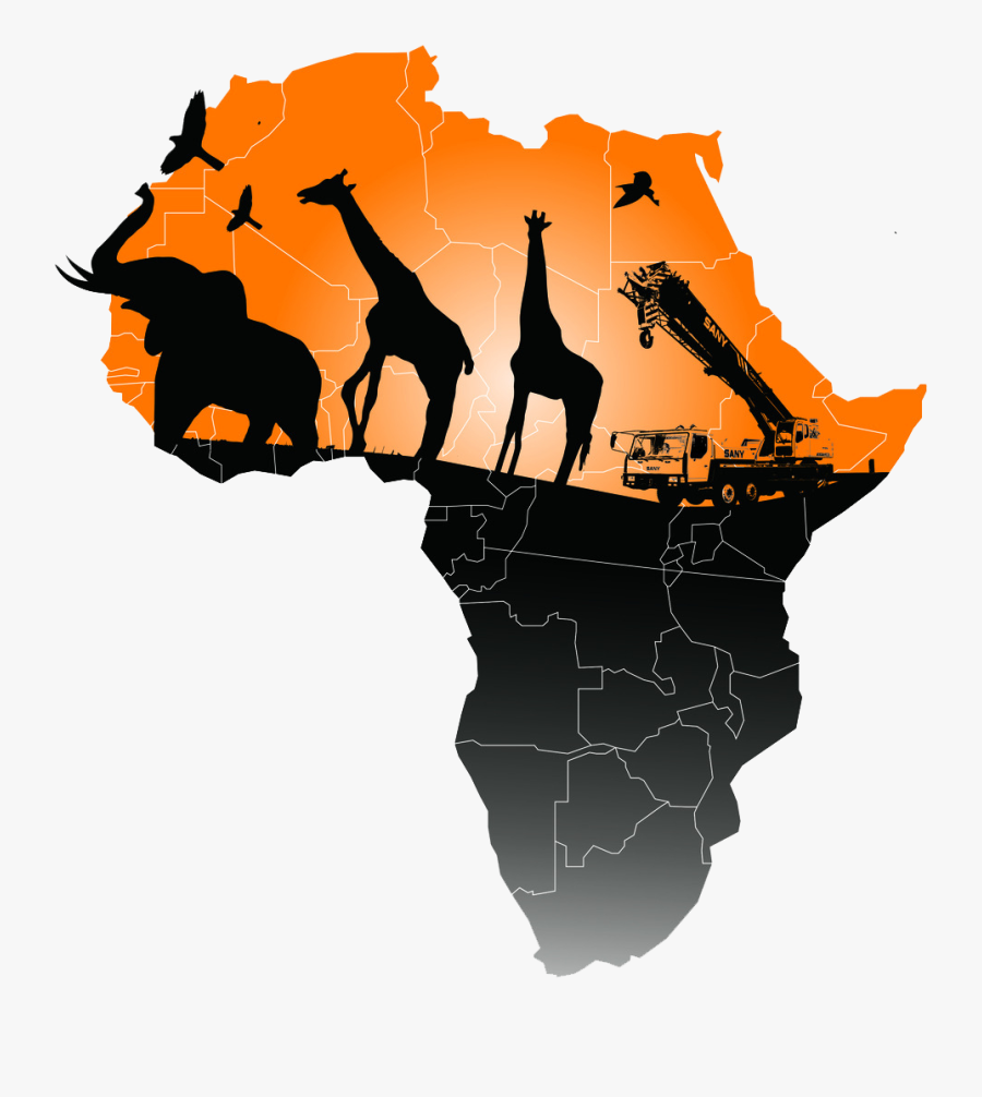 Map Of Africa Png Image - Transparent Map Of Africa Png, Transparent Clipart