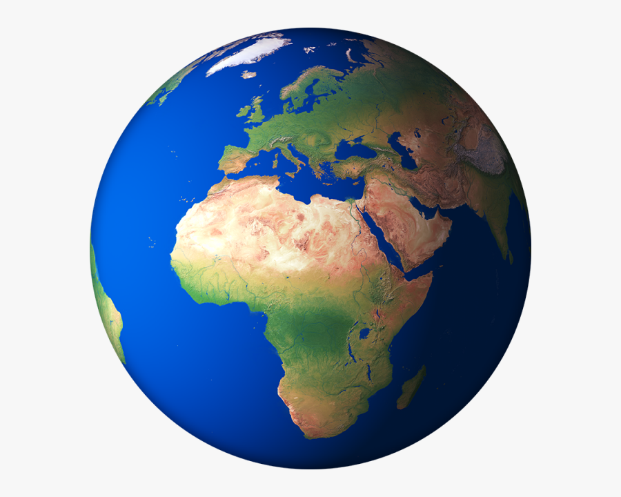 D Render Globe Planet Png And Ⓒ - Africa 3d Globe Map, Transparent Clipart