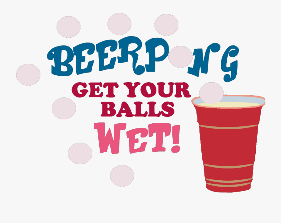 Transparent Beer Pong Png - Love Shoes Bags And Boys, Transparent Clipart