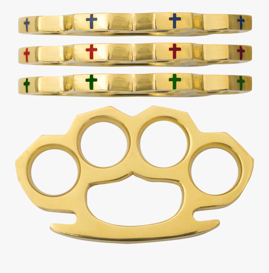 Cross Brass Knuckles, Transparent Clipart