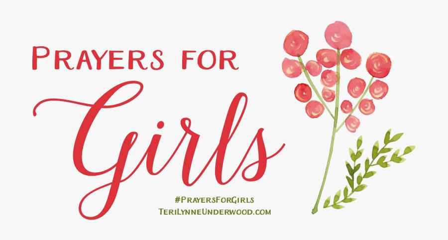 Com/prayers For Girls - Prayers For Girl, Transparent Clipart