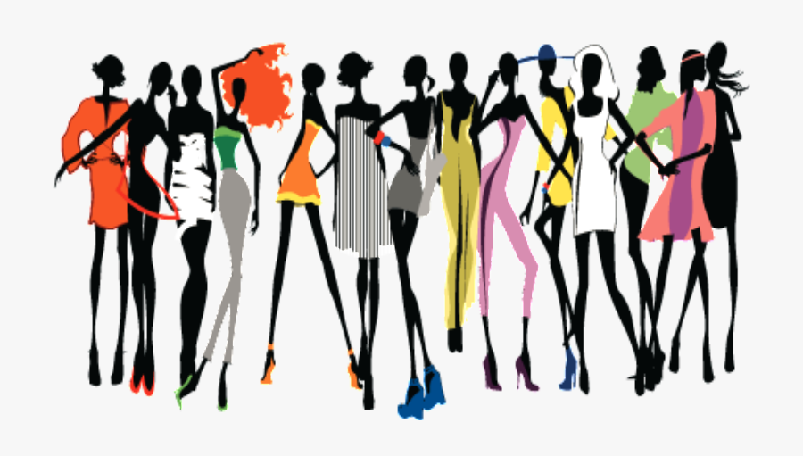 Runway Fashion Show Model Clip Art - Fashion Png, Transparent Clipart