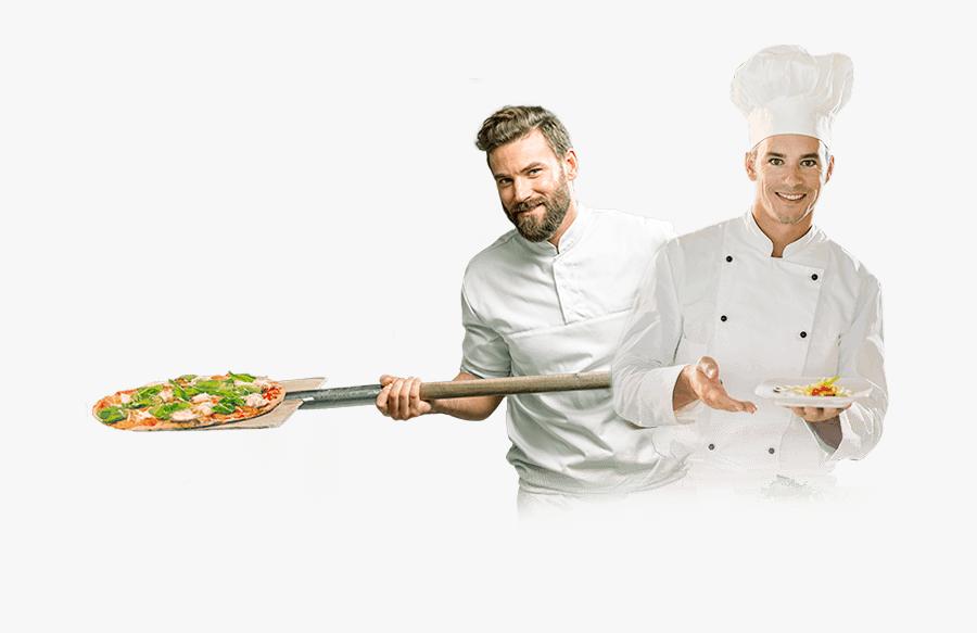 Clip Art Pizzaiole Cuisine Chef Restaurant - Pizza Cook Png, Transparent Clipart