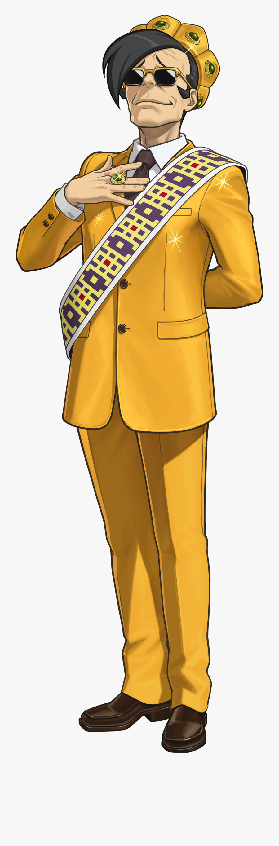 Ace Attorney Clipart Spirit - Ace Attorney Spirit Of Justice Payne, Transparent Clipart