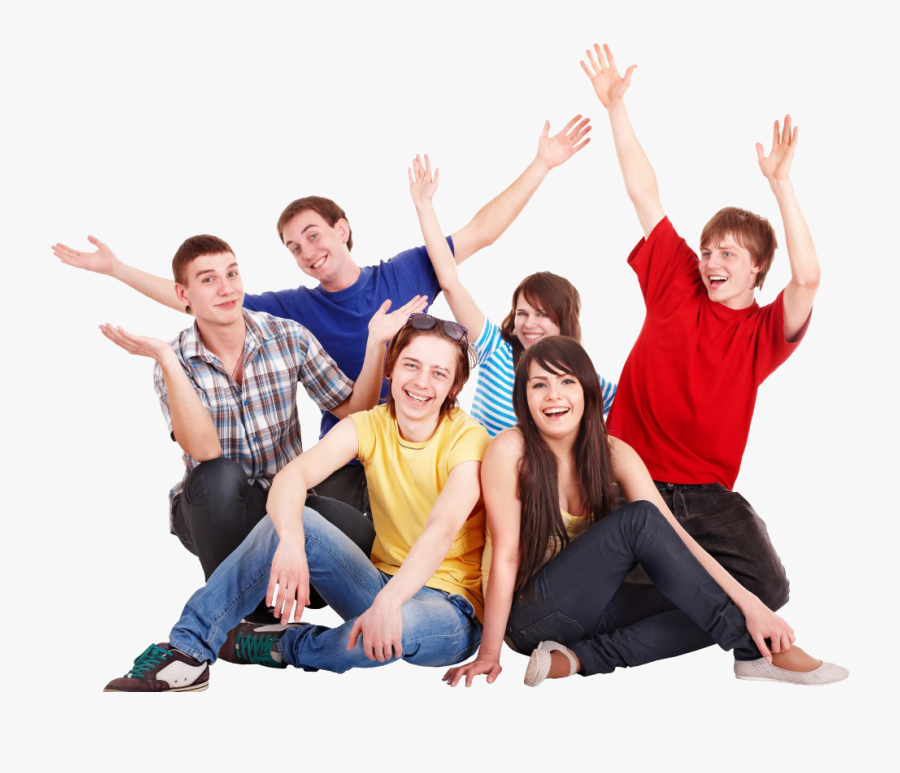 Stock Photography Happiness People - Young People Are Happy, Transparent Clipart
