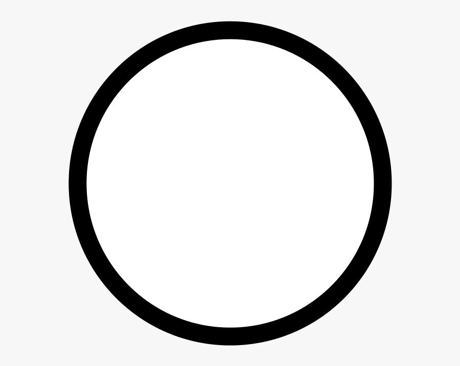 Simple Circle Border Png, Transparent Clipart
