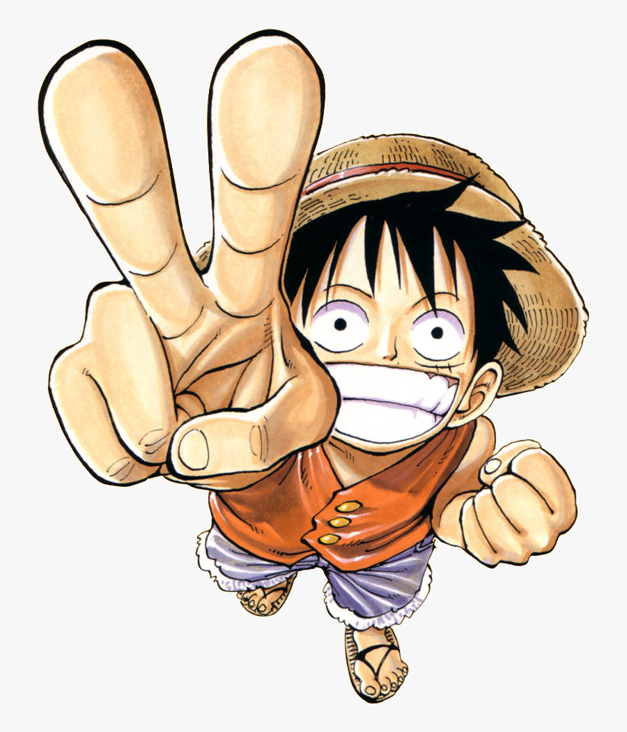 One Piece Clipart Transparent - Luffy One Piece Transparent, Transparent Clipart