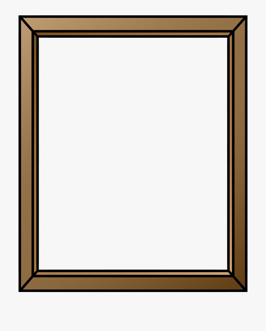Picture Frame Frame Frame Border Free Picture - Bordure De Cadre Gratuit, Transparent Clipart