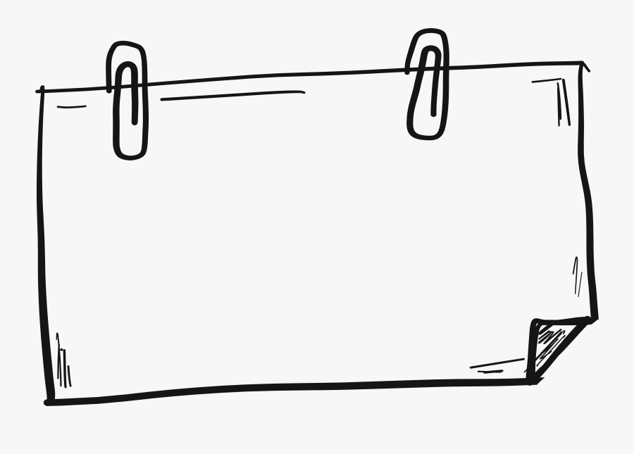 Transparent Hand Drawn Arrow Png - Hand Drawn Border Png, Transparent Clipart