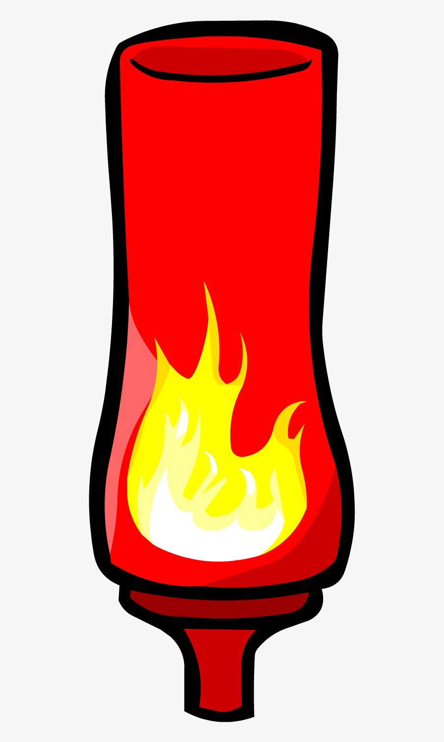 Hot Sauce Png - Club Penguin Hot Sauce, Transparent Clipart