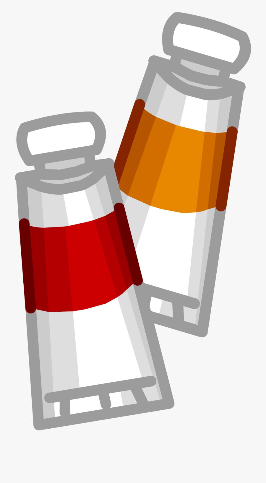 Hot Sauce Face Club - Club Penguin Paint, Transparent Clipart