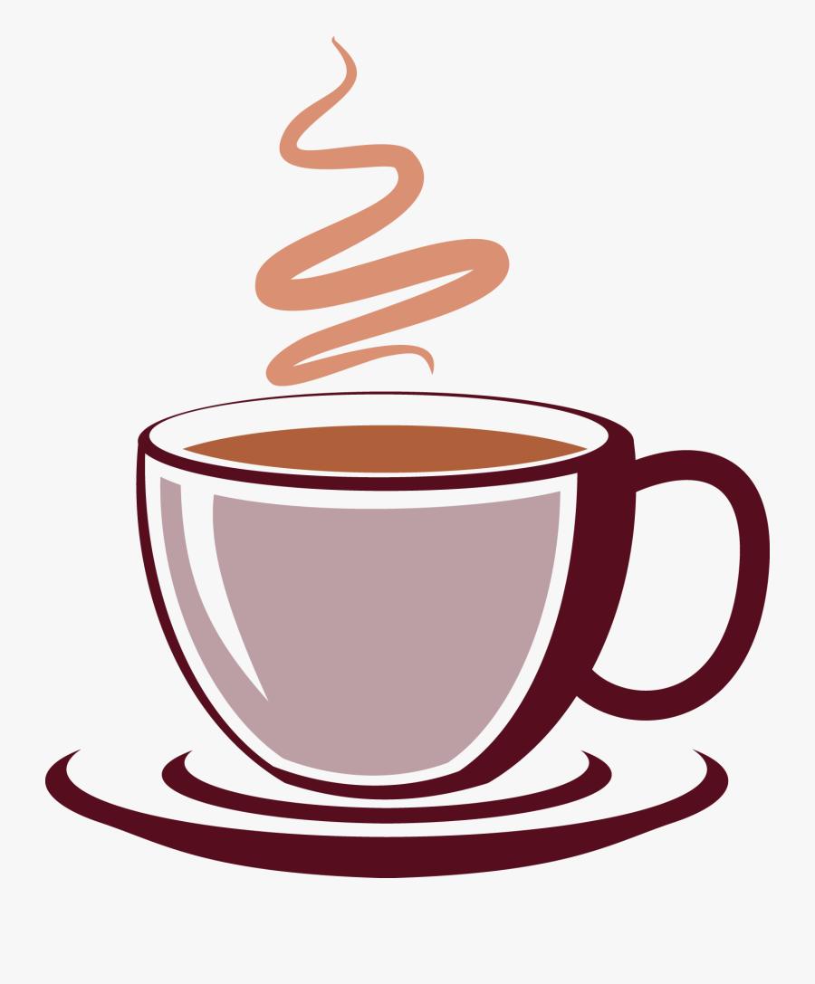 Coffee Transparent Clip Art - Free Clipart Coffee Cup Transparent Background, Transparent Clipart