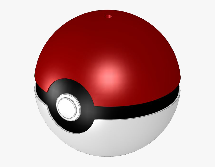 Pokeball Clipart Blue - Transparent Background Pokemon Ball Png, Transparent Clipart