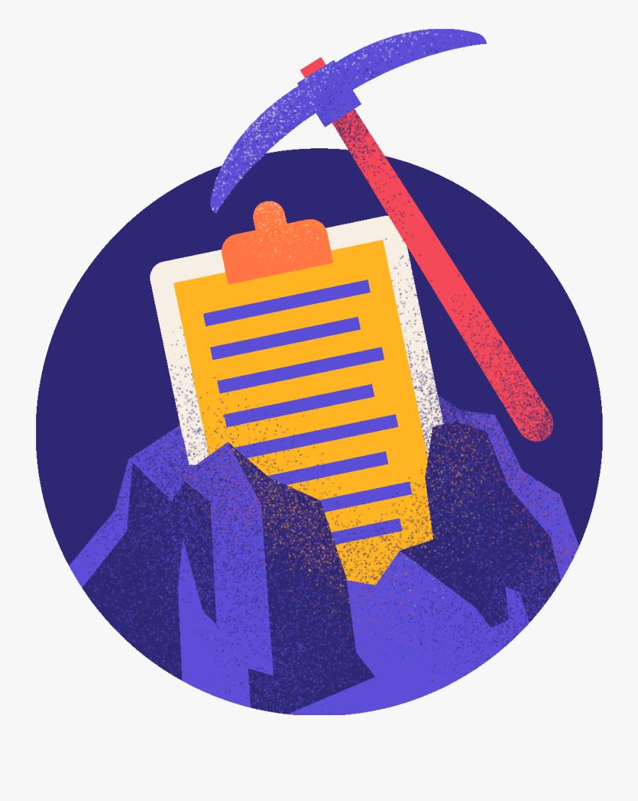 Data Collection & Sourcing - Illustration, Transparent Clipart