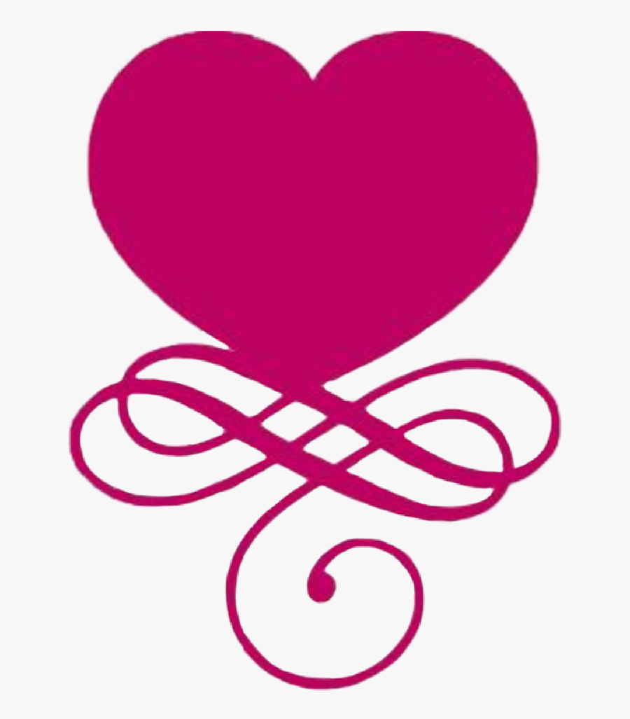 #heart #scrollwork #valentinesday - Heart, Transparent Clipart