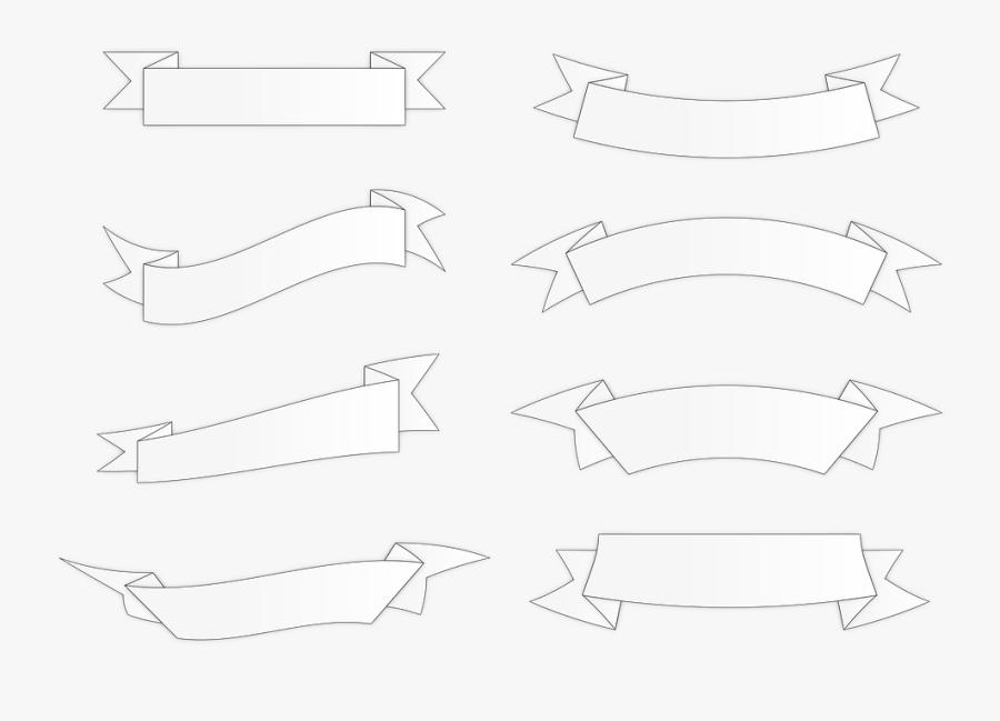 Forma De Banner Png, Transparent Clipart