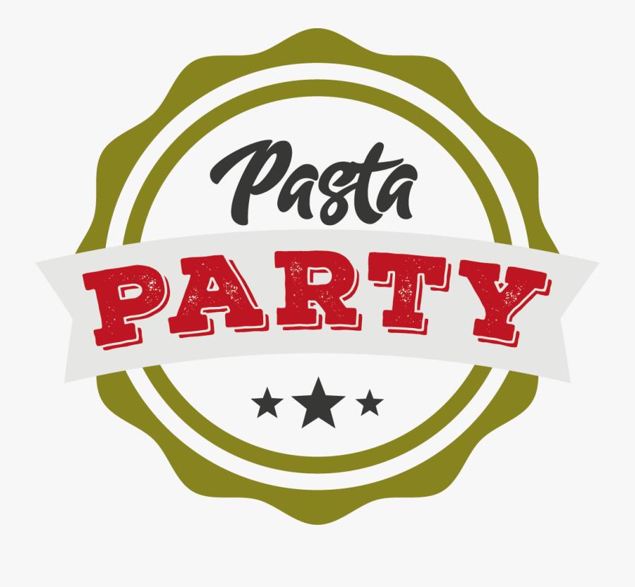 Pasta Party Clip Art, Transparent Clipart