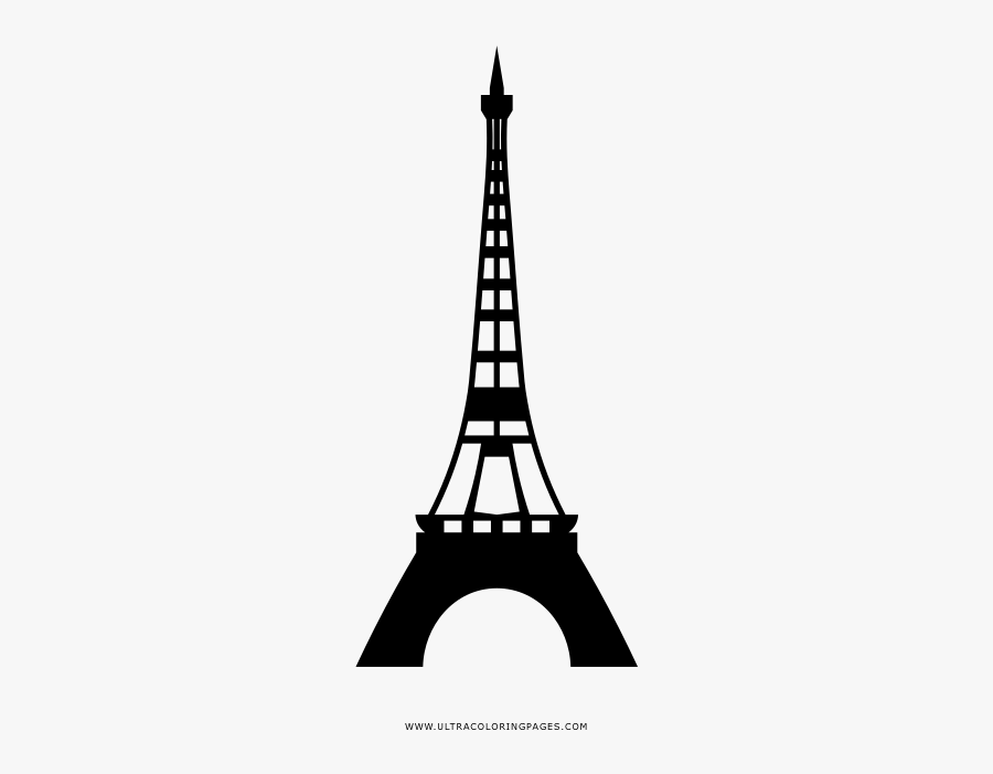 - Eiffel Tower Coloring Page - Tower , Free Transparent Clipart - ClipartKey