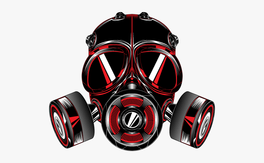 Gas Mask T-shirt Gas Detector - Gas Mask Logo Png, Transparent Clipart