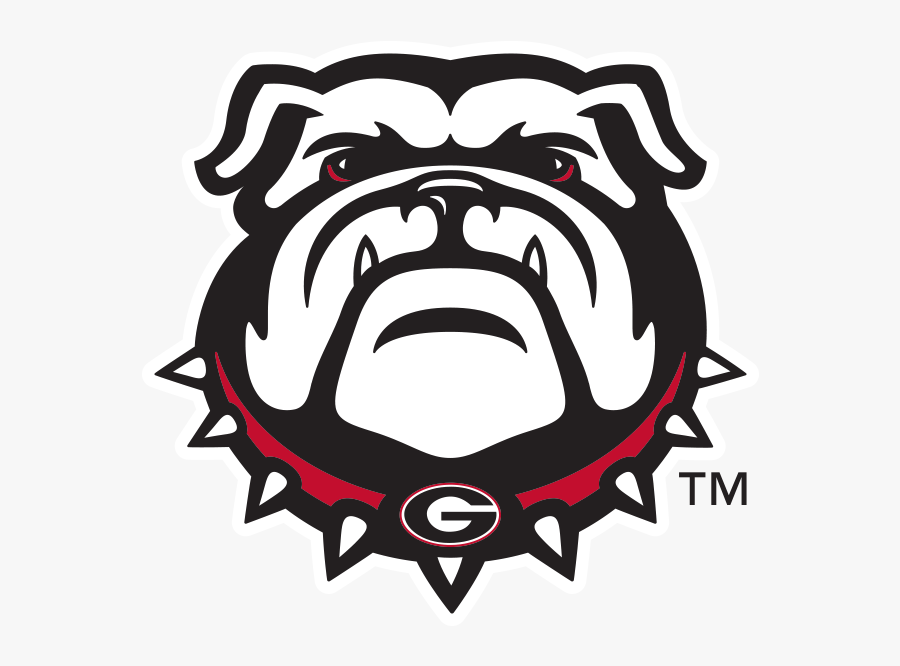Uga Stickers Messages Sticker-3 - Georgia Bulldog Logo Png, Transparent Clipart
