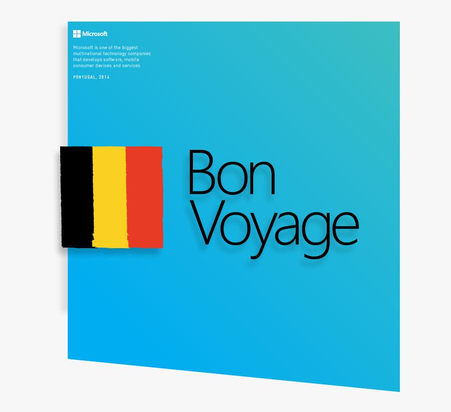 Clip Art Images Of Bon Voyage - Graphic Design, Transparent Clipart