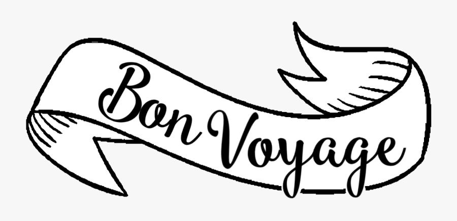 Bon Voyage En Png, Transparent Clipart