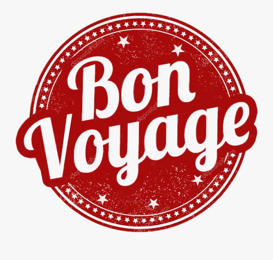 #bon Voyage - Bon Voyage Stamp Clipart, Transparent Clipart