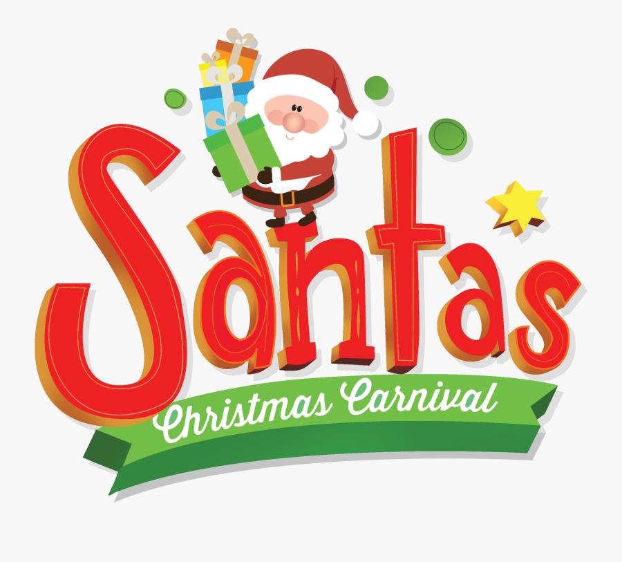 Santa&christmas Carnival - Christmas Carnival Clipart, Transparent Clipart