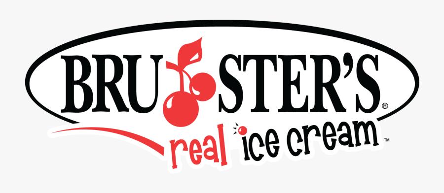 Brusters Ice Cream Logo Transparent, Transparent Clipart