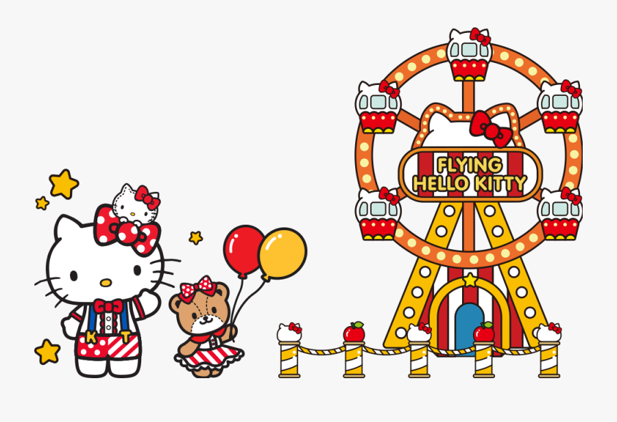 Hello Kitty Carnival, Transparent Clipart