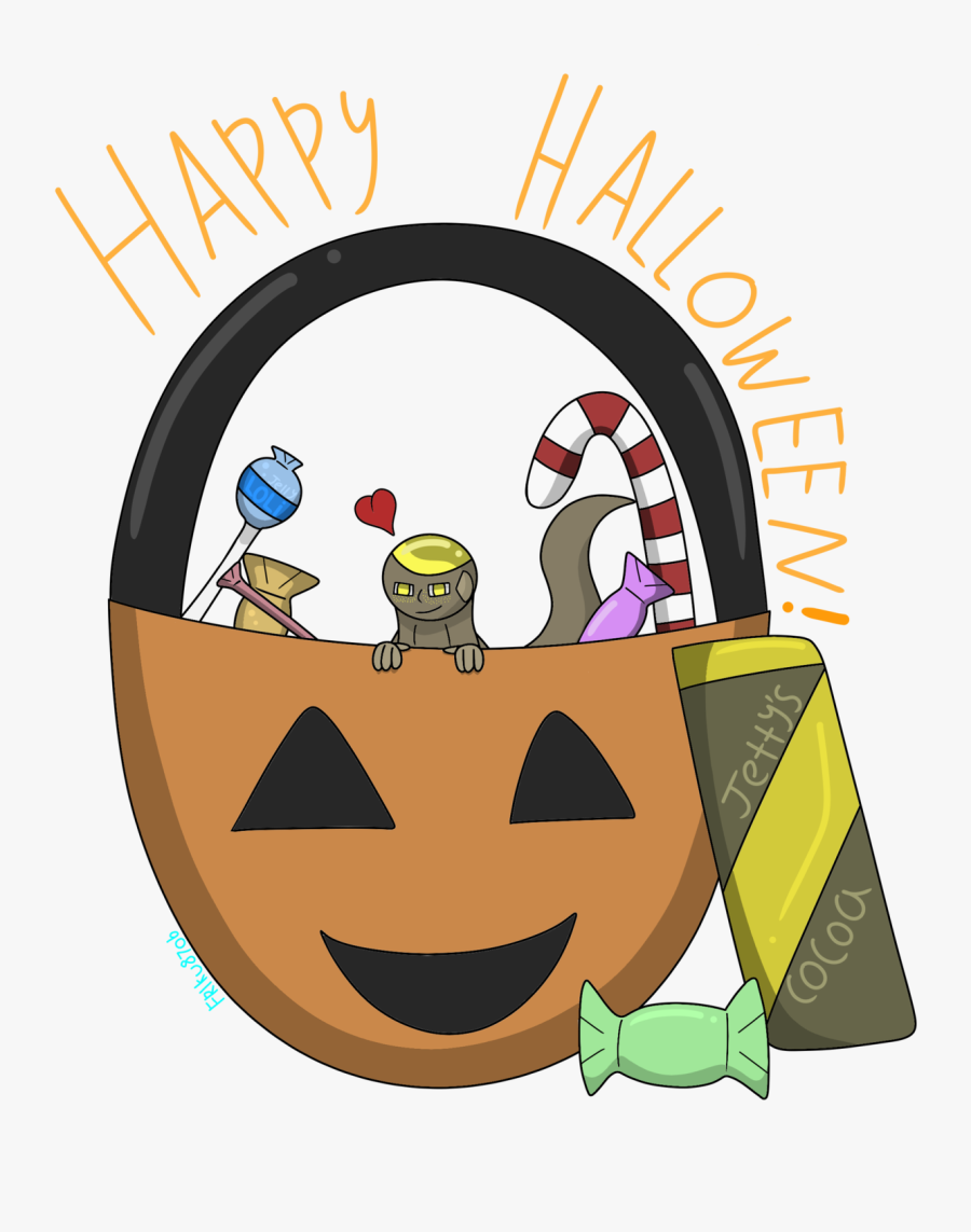 Happy Halloween  i've Held On To This Doodle For A - Cartoon, Transparent Clipart