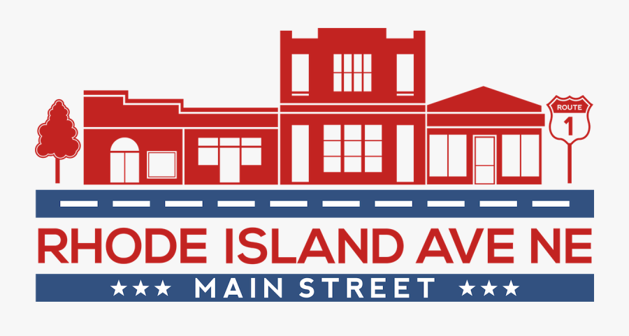 Clip Art Small Business Clipart - Rhode Island Avenue Main Street, Transparent Clipart
