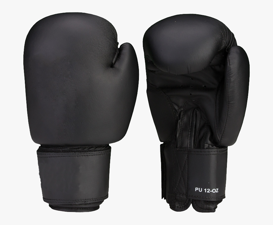 Boxing Glove Png Image - Black Boxing Gloves Png, Transparent Clipart